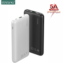 FERISING 5A Super Fast Charger 10000mah Power Bank USB Type