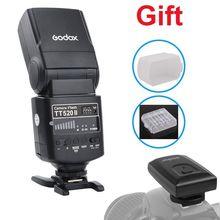 GODOX TT520II TT520 II Flash Speedlite Cho Canon EOS 1300D 800D 750D 760D 700D 650D 100D 80D 77D 60Da 5Ds 5Ds R 5D Mark IV 7D 6D