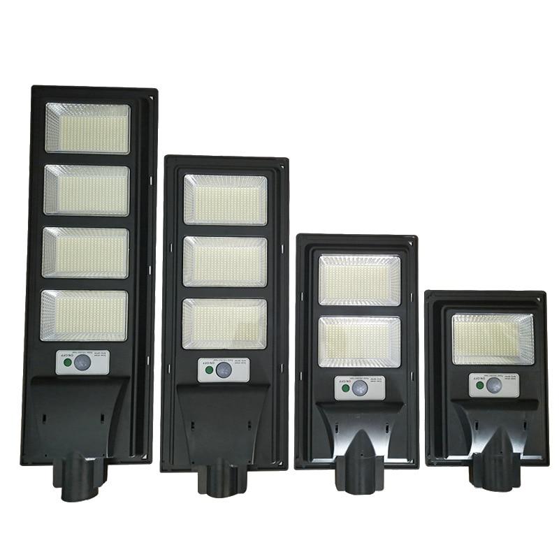 300W 600W 900W 1200W LED Solar Street Light 1120LED Remote Control Street Lighting IP65 Outdoor Street Lamp with Motion Sensor