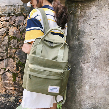 Fashion Backpack Women School Bag for Teenagers College Nylon Student Waterproof Nylon Backpack Laptop Bags Mochila Feminina fashion waterproof backpack women gradient color nylon female school bag korean style college bookbag backpack mochila feminina