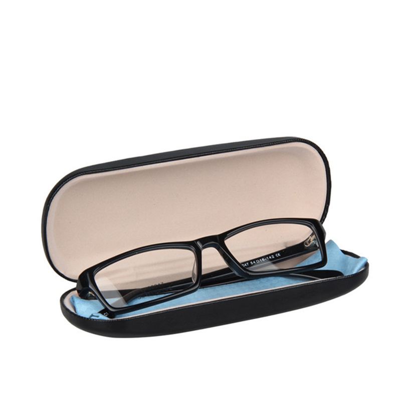 IBOODE Glasses Case Women Men Sunglasses Cover PU Eyeglasses Storage Box Student Eyewear Organizer Boy Girl Spectacles Container