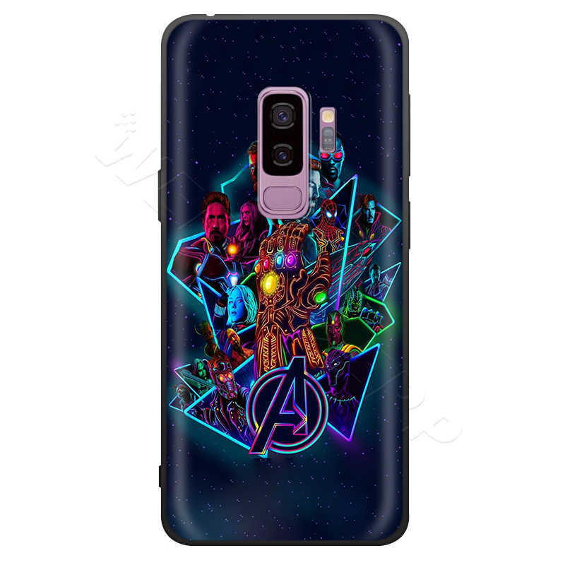 Marvel Avengers Case for Samsung Galaxy S7 Webbedepp S8 S9 S10 Plus Nota Borda 10 8 9 A10 A20 A30 A40 A50 A60 A70