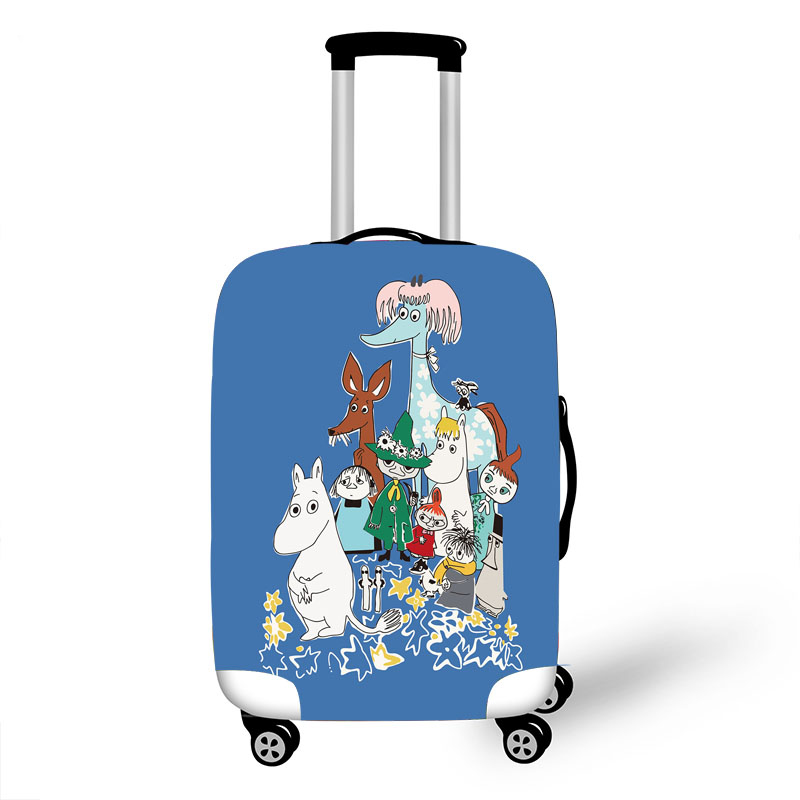 Elastic Luggage Protective Cover Case For Suitcase Protective Cover Trolley Cases Covers 3D Travel Accessories Bird Pattern 1000