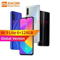 Globalna wersja Xiao mi mi 9 Lite 6GB RAM 128GB ROM 6.39 cala NFC snapdragon do telefonu komórkowego 710 szybkie szybkie ładowanie 4030mAh SmartPhone 1