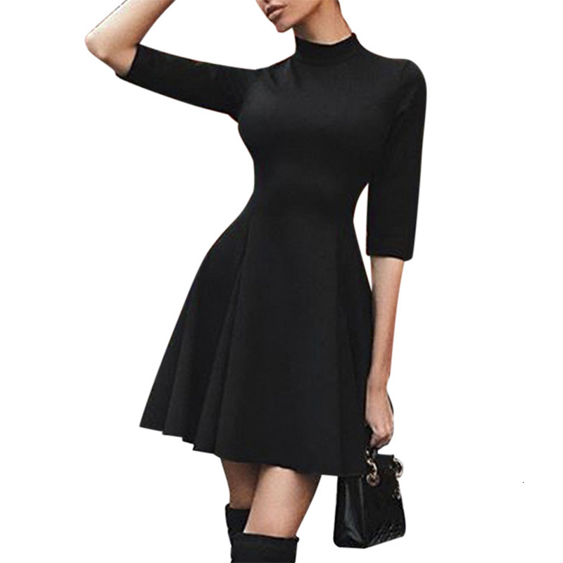 Sexy Off Shoulder Summer Women <font><b>Dress</b></font> Female Womens Holiday O Collar Party Ladies Casual <font><b>Dress</b></font> Half Sleeve <font><b>Dress</b></font> Party <font><b>Dress</b></font> image