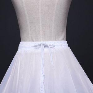 Image 5 - Womens Full Length Witte Hoepelrok Petticoat A lijn 6 Hoops Rok Slips Lange Onderrok voor Wedding Dress Bridal Baljurk