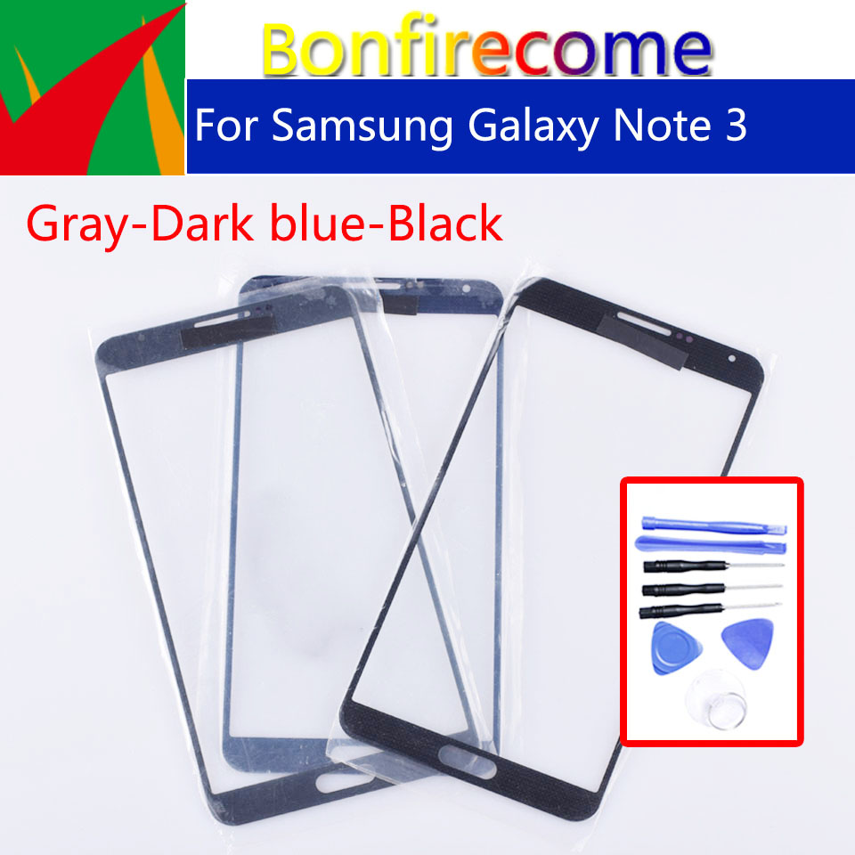 N900 Touchscreen For Samsung Galaxy Note 3 Note3 N900 N9005 N900F SM-900F N9002 <font><b>N9000</b></font> <font><b>LCD</b></font> Front Outer Glass Touch Screen Lens image