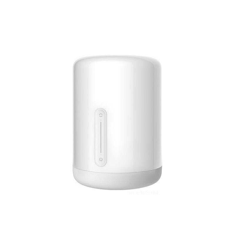 Hot XIAOMI MIJIA Bedside Lamp 2 Smart LED Table lamp bedroom Bedside voice control Night Light indoor desk light Wifi Mihome APP