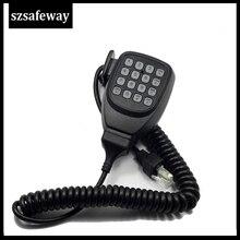 KMC 32 microfone em dois sentidos do orador do rádio com rj45 8 pinos para o rádio móvel tk768g/tk868g/tm271/tm471/tk7160e de kenwood