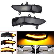 Car LED Dynamic Turn Signal Lights For Subaru Forester Tribeca Side Mirror Blinker Indicator For Subaru Outback Legacy 2008 2011