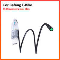 USB Cavo di Programmazione per Bafang Metà Azionamento Del Motore BBS01 BBS02 BBS03 BBSHD Bicicletta A Motore Elettrico 8Fun 58 CENTIMETRI E- bike Cavo