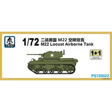 S Model PS720022 1/72 M22 Locust Airborne Tank   Scale model Kit