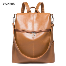 Women Backpack PU Leather…