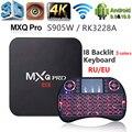 ТВ-приставка MXQ PRO Smart 4K, Android 10, RK3228, Amlogic S905W, 2 + 16 ГБ, HD, 2,4 ГГц, Wi-Fi