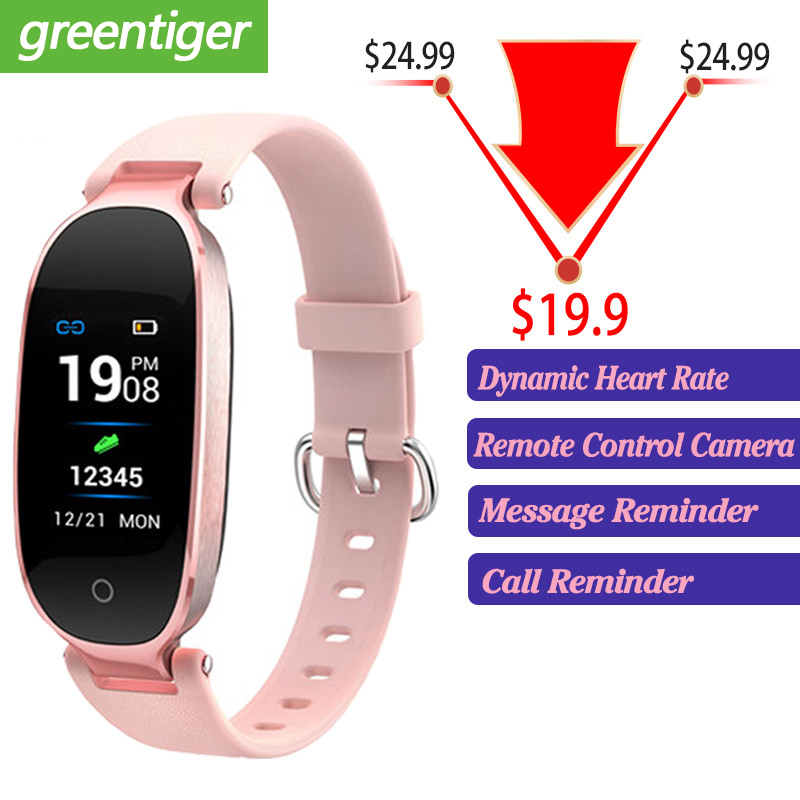 S3 Plus Smart Watch Color Screen Waterproof Women smart band Heart Rate Monitor Smartwatch relogio inteligente For Android IOS-in Smart Watches from Consumer Electronics