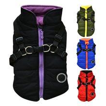 2 в 1 куртка с принтом собаки для холодной погоды жилет одежда