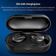 XG15 TWS Drahtlose Bluetooth 5,0 Freihändiger Kopfhörer Mit Mic 350mAh Power Mini Ohrhörer Sport IP5 Wasserdichte Headset mit Ladung box HIFI 3D Stereo Soundfor xiaomi huawei iphone