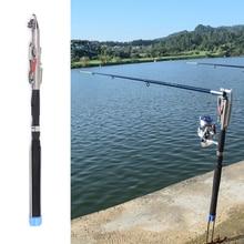 2.1m e 2.4m e 2.7m e 3.0m Canna Da Pesca automatico Spinning Telescopica Canna Da Mare Fiume lago Piscina Canna Da Pesca asta feeder