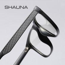 Мужские ультралегкие квадратные очки shauna оправа из углеродного