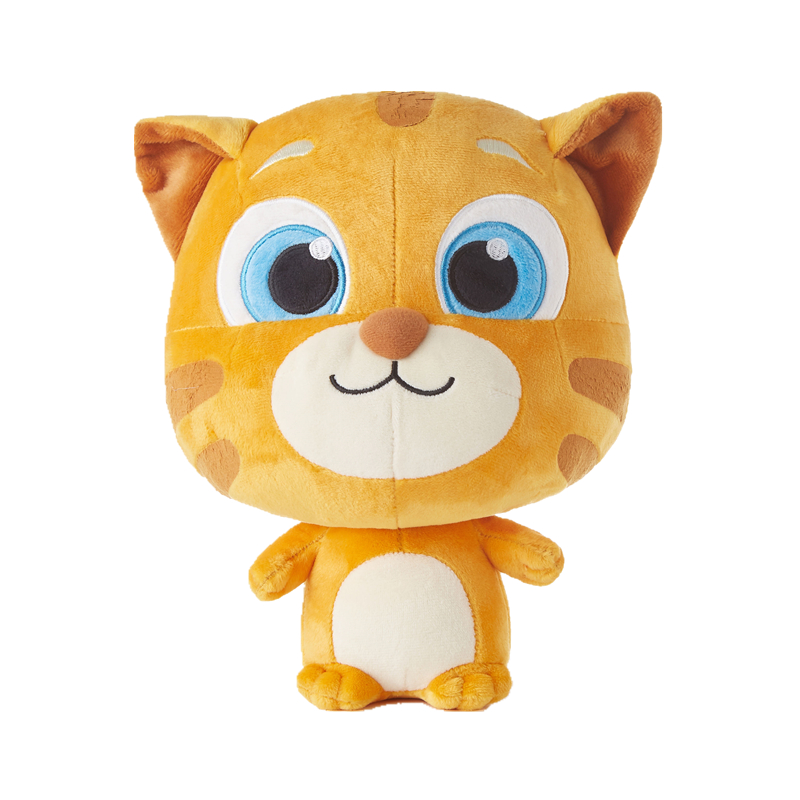 Stuffed Plush Cute Toys Ginger Cat Talking Tom And Friends Animal Dolls Christmas Birthday Gift For Children Kids