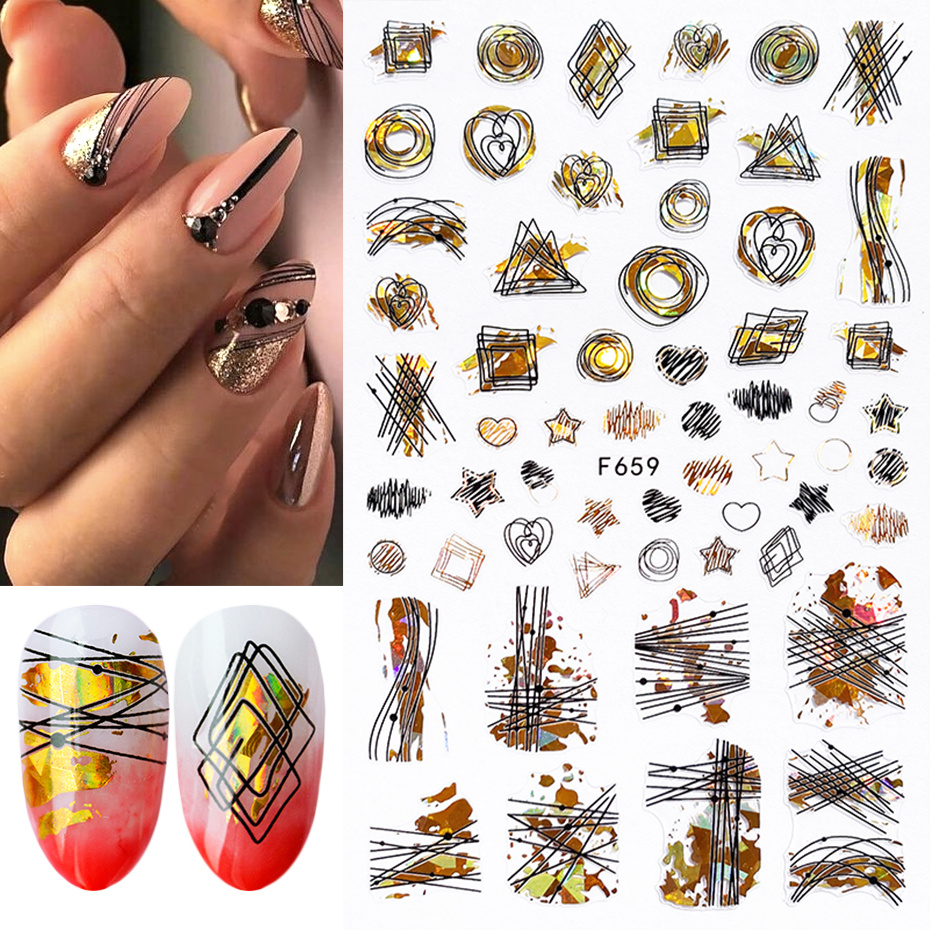 3d stickers for nail 5