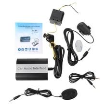 2020 새로운 핸즈프리 차량용 블루투스 키트 Volvo HU 시리즈 C70 S40/60/80 V40 V70 XC70 용 MP3 AUX 어댑터 인터페이스