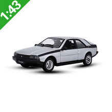 1:43 Renault Fuego Alloy Model Car Static high simulation Metal Model Vehicles For Collectibles Gift