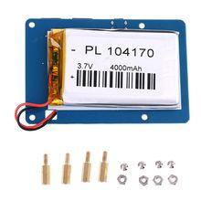 Lityum pil güç kaynağı genişletme kartı ahududu Pi 3 anahtarı ile toptan ve Dropship