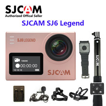 Оригинальная SJCAM SJ6 LEGEND WiFi 4K 24fps Ultra HD Notavek 96660 Водонепроницаемая экшн-камера 2