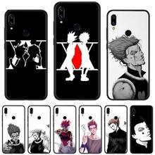 Hunter x Hunter Anime boy tv DIY Painted Bling Phone Case Fo