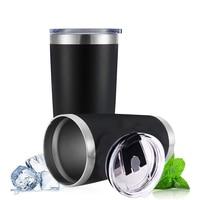 熱マグビールカップステンレス鋼魔法瓶水ボトル真空断熱漏れ防止蓋タンブラー箸置き