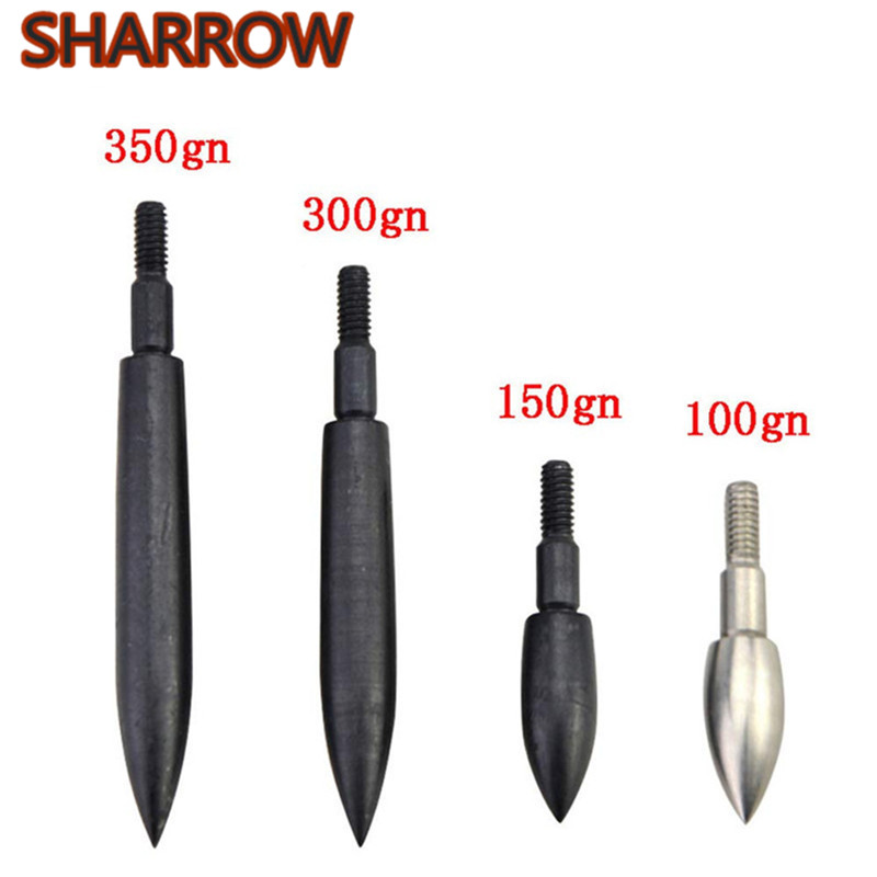 12Pcs 100-350 Grain Archery Broadheads Arrow Field Points Screw-In Arrowheads Target Practice Arrow Tips For Hunting Accessories