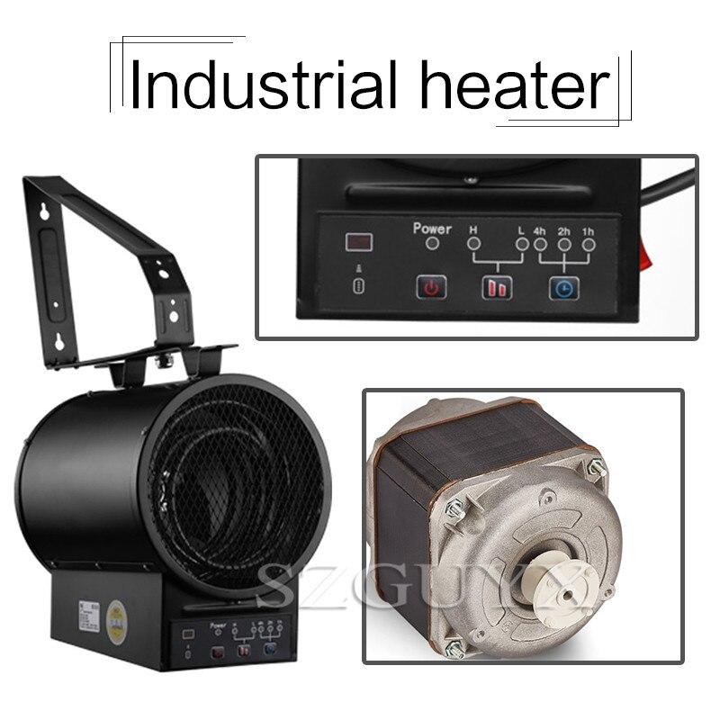 Промышленный нагреватель мастерская завода большой площади нагреватель инженерный настенный нагреватель теплицы разведение Электрическ