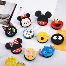 NEW 1PCS Universal Mobile Phone Bracket Cute 3D Animal Airbag Phone Expanding Stand Finger Holder Cartoon Phone Holder Stand cute cartoon animal universal mobile phone bracket support finger mobile phone bracket desktop bracket universal