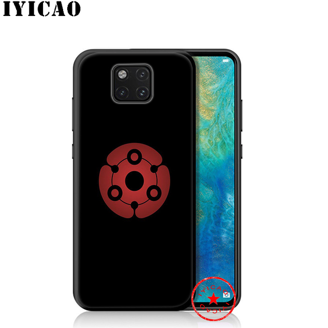 IYICAO Naruto Shippuden Logo miękkie etui na Huawei P30 P20 P10 P9 P8 P Smart Z Plus 2019 Lite Pro 2018 2017 2016 TPU
