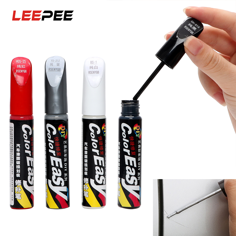 LEEPEE 4 Colors Fix It Pro Car Scratch Repair Auto Paint Pen Paint Care Auto Care Car-styling Professional Scratch Remover
