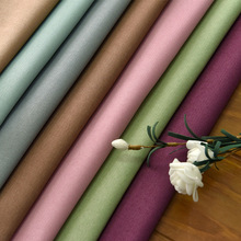 цены Thicken Blackout Curtains for Living Dining Room Bedroom  Velvet Hemp Curtain Fabric Solid Custom Curtain Fabric