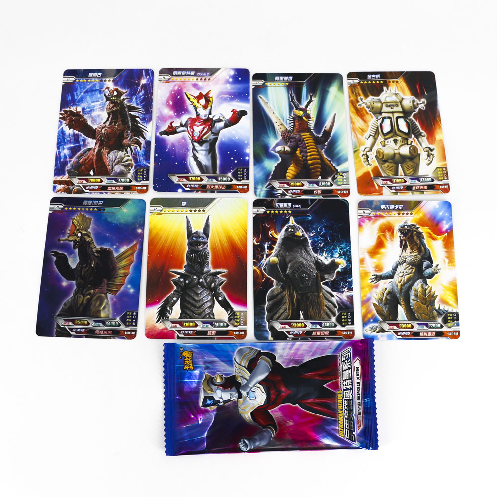 Hot Altman High Quality Ultraman Shining Card 8 144 288 Flash Cards Kaiju Collection Board Game Toys For Kids