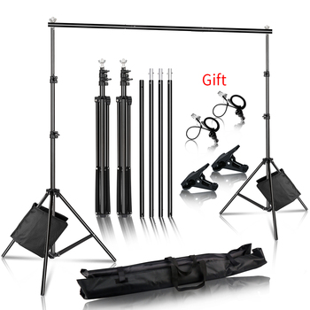 Photo Background Backdrop Support System Kit for Photo Studio Background Stand Photography backdrops 1