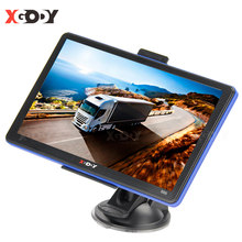 XGODY 7Inch GPS Truck Car Navigation 886 256M+8GB Capacitive Touch Screen Navigator Voice Prompts Optional 2020 Free Map