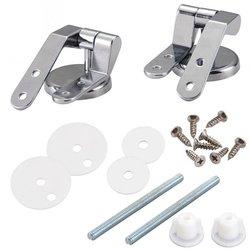 Wymiana stopu cynku deska klozetowa zawiasy zestaw zawiasów chromowane zawiasy łazienka akcesoria toaletowe sprzęt kąpielowy na