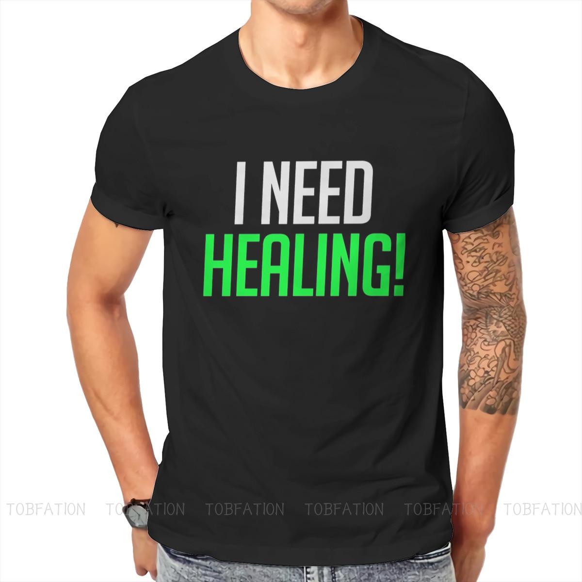 I Need Healing! Unique TShirt Overwatch Comfortable Hip Hop Gift Idea  T Shirt Short Sleeve Hot Sale