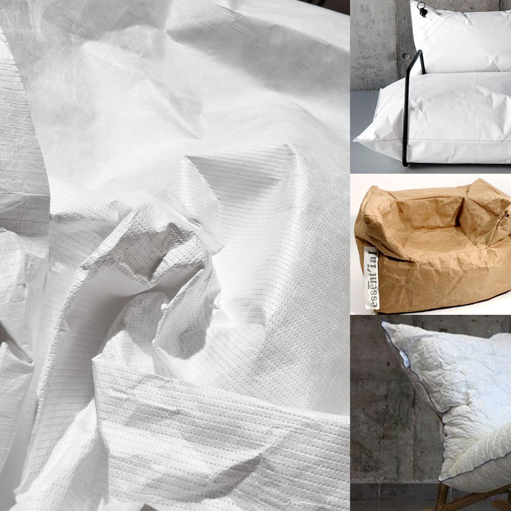 0,17 мм/0,27 мм импортная DuPont бумажная ткань/Tyvek моющаяся дышащая бумага рваная не рваная Сумка дизайнерская ткань оптовая продажа
