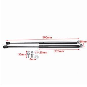 Image 3 - 2X Car Gas Shock Hood Shock Strut Damper Lift Support for Skoda Octavia A7 MK3 Stainless Steel Hydraulic Rod 2012 2013   2020