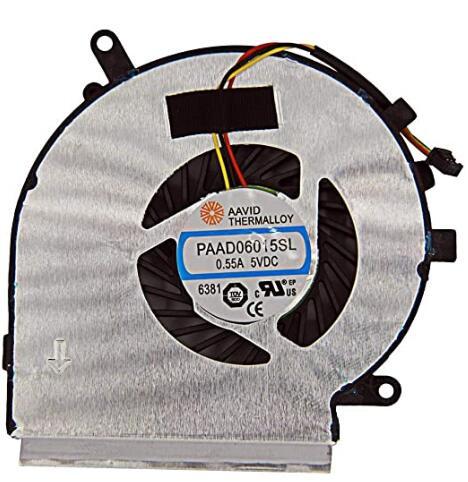 Ventilador de refrigeração da cpu do portátil compatível para msi ge62 ge72 pe60 pe70 gl62 gl72 série aavid thermalloy paad06015sl|Almofadas de arrefecimento para laptop| - AliExpress