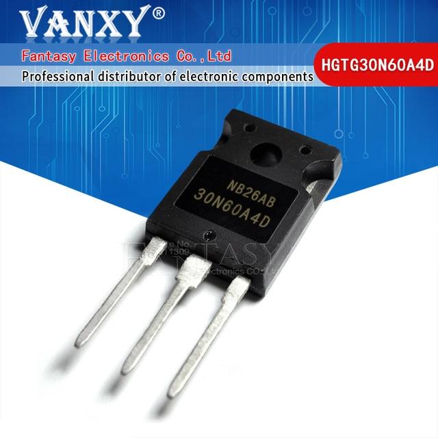 2PCS HGTG30N60A4D TO 247 HGTG30N60 30N60 TO 3P 30N60A4D TO247 nuovo transistor MOS FET di trasporto libero