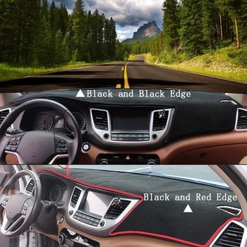 Para Jeep Cherokee 2016-2019 Acessórios Interiores Auto Placa de Cobertura Do Painel Do Carro Traço Mat Pad Tapete Tapetes Dashmat Anti-UV