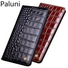 Genuine leather magnetic flip phone bag for OnePlus 7T Pro/OnePlus 7T/OnePlus 7 Pro/OnePlus 7 phone cover funda standing case