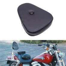 Universal Motorcycle Passenger Seat Rear Pillion Back Pad Backrest Pad Sissy Bar Cushion For Honda Yamaha Harley Sportster