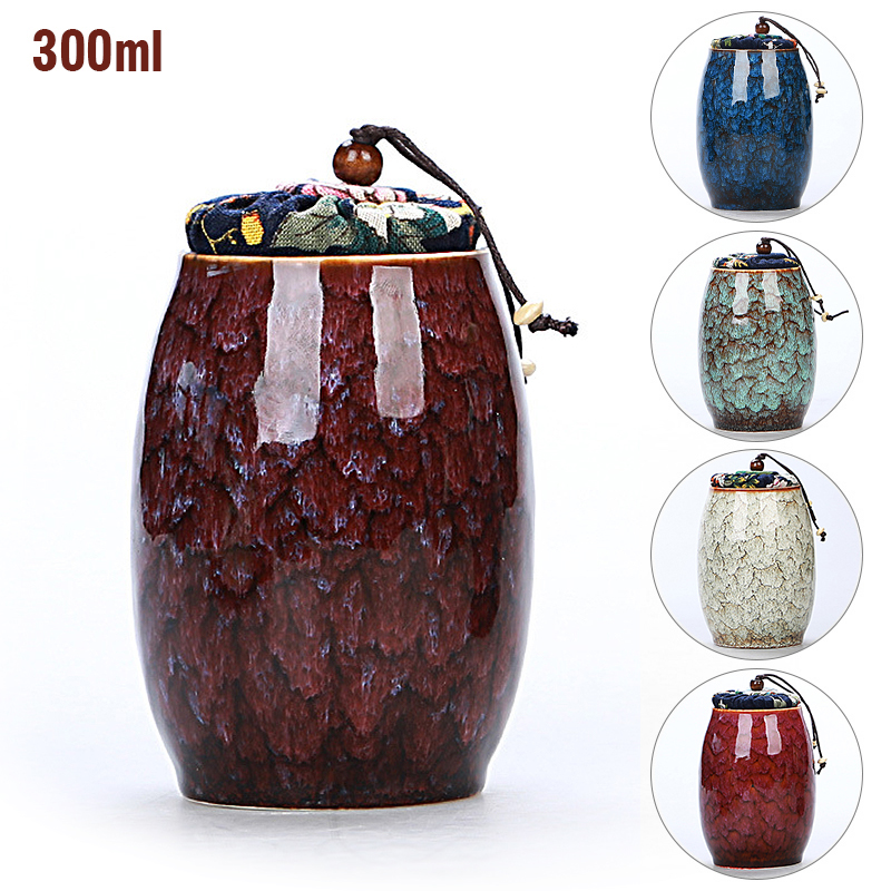 1pc Cremation Urn with Lid Pet Cat Dog Memorial Keepsake Ashes Container Jar Supplies 6*6*13cm